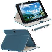 Accessory Kit for Ellipsis 10 - Blue Stylus Bundle