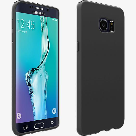 Silicone Cover for Samsung Galaxy S 6 edge+ - Matte Black