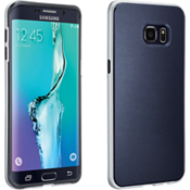 Soft Cover with Bumper for Samsung Galaxy S 6 edge+ - Blue