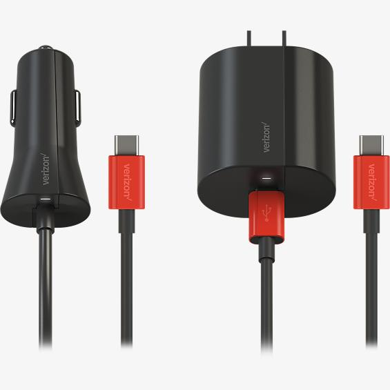 USB-C Car and Wall Charger Combo Pack