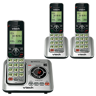 VTech 3 Handset Cordless Answering System