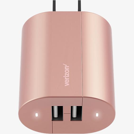 Wall Charger with Dual USB Ports