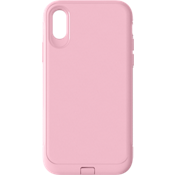 Rugged Case for iPhone XS/X - Pink/Pink
