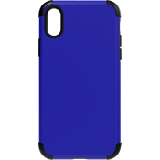 Rubberized Slim Case for iPhone XS/X - Blue