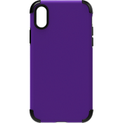 Rubberized Slim Case for iPhone XS/X - Purple
