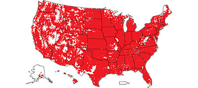 Verizon 4G LTE Coverage