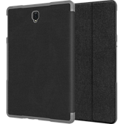 Folio Case & Tempered Glass Bundle for Galaxy Tab S4 - Black