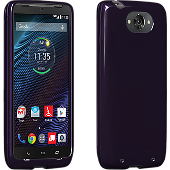 High Gloss Silicone for DROID Turbo - Plum Purple