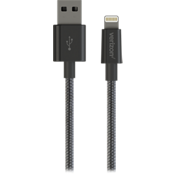Lightning Braided Charge-and-Sync Cable - Black