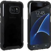 Matte Silicone Cover for Samsung Galaxy S7 - Black