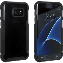 Matte Silicone Cover for Samsung Galaxy S7 - Black