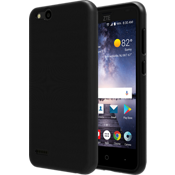 Matte Silicone Cover for ZTE Blade Vantage - Black