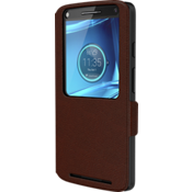 Flip Case for DROID Turbo 2 - Cognac Leather