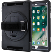 Rugged Strap Case for iPad 9.7 - Black