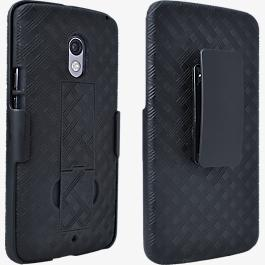 Shell Holster Combo with Kickstand for DROID Maxx 2