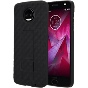 Shell Holster Combo for moto z2 force edition - Black