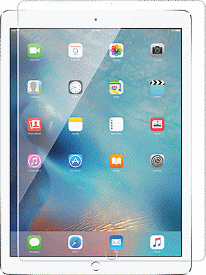 finest selection f2f65 a0f1f Tempered Glass Screen Protector for iPad Pro
