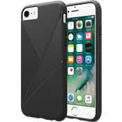 Textured Silicone Case for iPhone 8/7/6s/6 - Black