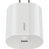 Wall Charger with USB-C Port - White