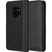Wallet Folio Case for Galaxy S9 - Black