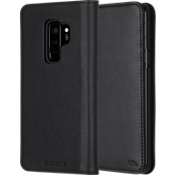 Wallet Folio Case for Galaxy S9+ - Black