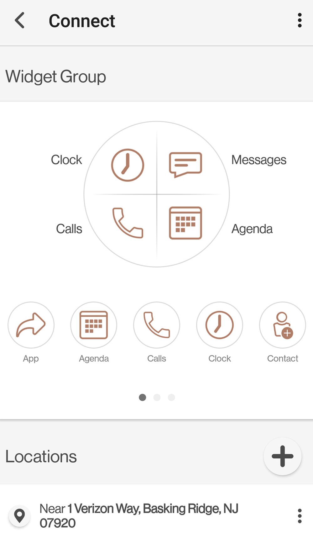 personalizar widgets del reloj wear24