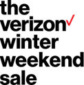 The Verizon Winter Weekend Sale