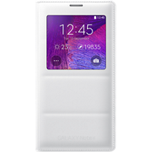 Wireless Charging S-View Flip Cover for Galaxy Note 4