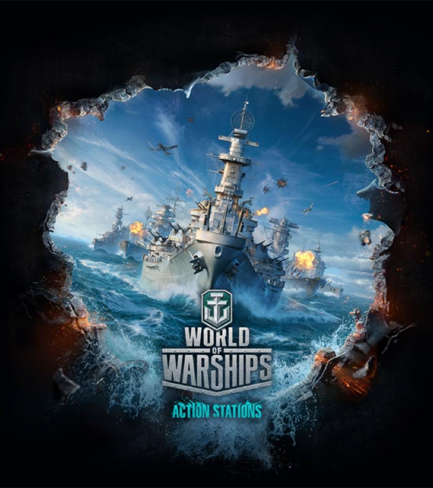World of Warships card