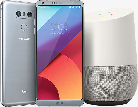 Google Home and LG G6