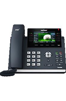 Teléfono IP de escritorio Yealink One Talk<sup>SM</sup> T46SW mediano, apto para Wi-Fi