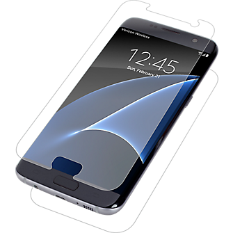 Alexa voice-controlled zagg invisibleshield hd screen protector samsung galaxy s7 edge the inside, the