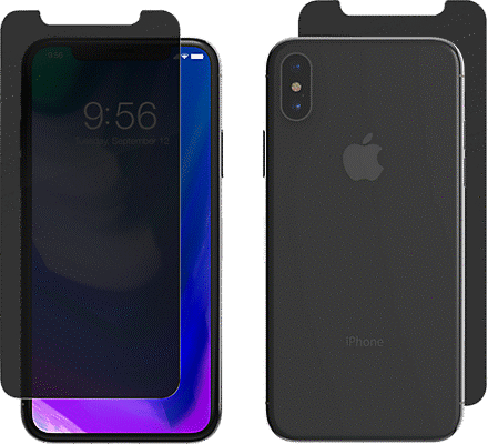 best loved 4c0eb 42d30 InvisibleShield Privacy Glass+ for iPhone XS/X