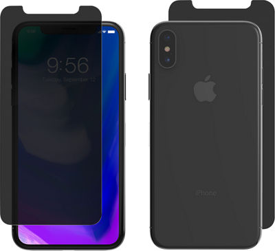 ZAGG InvisibleShield Privacy Glass+ for iPhone X