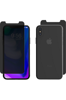 best loved 3d9bb fe24a InvisibleShield Privacy Glass+ for iPhone XS/X