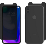 ZAGG InvisibleShield Privacy Glass+ for iPhone XS/X