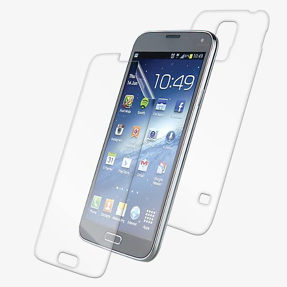 InvisiSHIELD DRY (Full Body) - Front/Back for Galaxy S 5