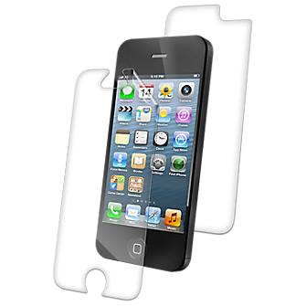 verizon wireless iphone zagg invisishield for apple iphone 5 front back verizon 13239