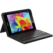 messenger folio Keyboard Case for Galaxy Tab E 9.7 - Black