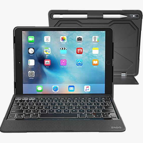 Rugged Book Pro Keyboard Case for iPad Pro 9.7 - Black