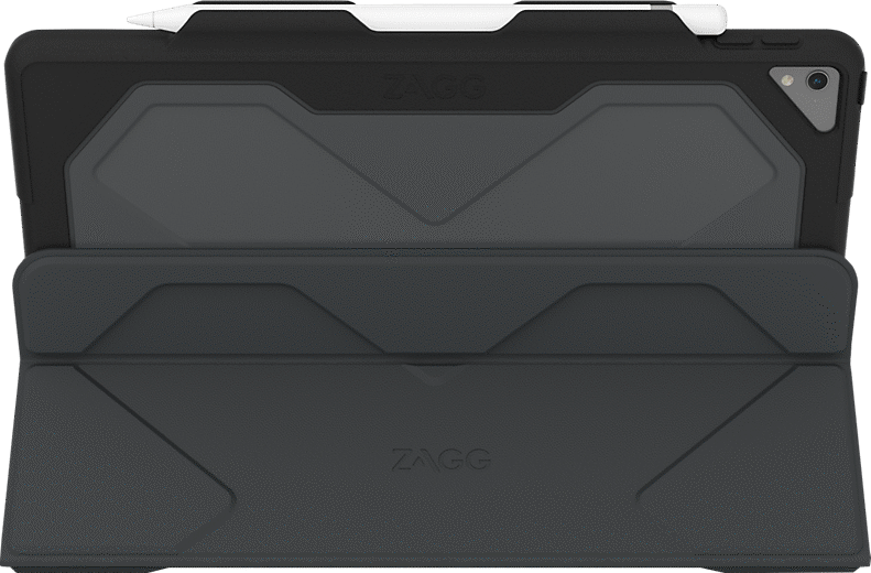 Zagg Rugged Messenger Book Keyboard Folio Case For Ipad