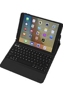 Zagg Rugged Messenger Book Keyboard Folio Case For Ipad