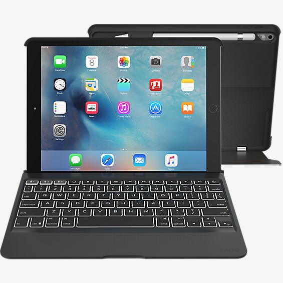 Slim Book Pro Keyboard Case for iPad Pro 9.7 - Black