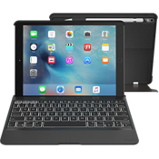 Slim Book Pro Keyboard Case for iPad Pro 9.7 - Black